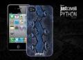 Justcavalli Python Blue Питон для IPhone 4/4s