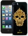Justcavalli Skull Black Череп Черный для IPhone 4/4s