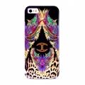 Justcavalli Wings Purple Крылья Фиолетовый для IPhone 5/5s