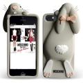 Rabbit Кролик moschino Бежевый чехол для Iphone 5 5s