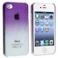 Raindrop Purple Капли Дождя Фиолетовый для IPhone 4/4s