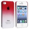 Raindrop Red Капли Дождя Красный для IPhone 4/4s