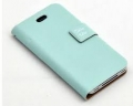 Table Talk Sky-Blue Голубой чехол для IPhone 4,4s Книжечки