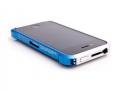 Vapor 4 bumper Silver/Blue для IPhone 4/4s