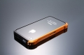 Vapor 4 bumper  black/gold для IPhone 4/4s