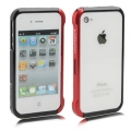 Vapor 4 bumper for IPhone 4, 4s black/red для IPhone 4/4s