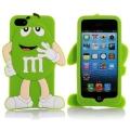 чехол 3D M&M's Зеленый на iPhone 4/4S