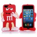 чехол 3D M&M's Красный на iPhone 4/4S