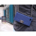 чехол Chanel Boy Blue Синий для IPhone 5/5s