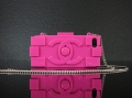 чехол Chanel Lego Hot Pink Ярко Розовый для IPhone 5/5s