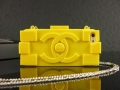 чехол Chanel Lego Yellow Желтый для IPhone 5/5s