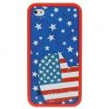 Чехол Ero case America Fever для IPhone 4/4s