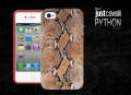 чехол Justcavalli Python Brown Питон  для IPhone 4/4s