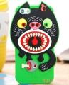 чехол Monster MI! Зеленый для iPhone 5/5s