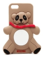 чехол Moschino Agostino Panda коричневый для iPhone 4/4s