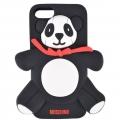чехол Moschino Agostino Panda черный для iPhone 4/4s