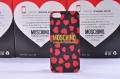 чехол Moschino Cheap and Chic красный для IPhone 5/5s