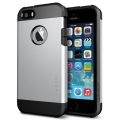 чехол SGP Tough Armor Satin Silver Серебро для IPhone 5/5s
