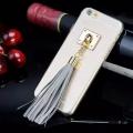 Чехол Tassel с хвостиком Grey Серый для iPhone 6/6s