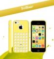 чехол Apple Желтый для Iphone 5с