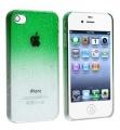 чехол Raindrop Капли Дождя Зеленый для IPhone 4/4s