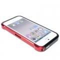Бампер Vapor 5 Черный с красный Black/Red для Iphone 5