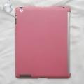Чехол-крышка для iPad 2 и iPad 3 Розовая Эластичная