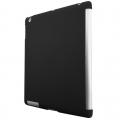 Чехол-крышка для iPad 2 и iPad 3 Черная Эластичная