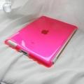 Чехол-крышка для iPad 2 и iPad 3 Розовая Пластик