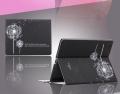 Одуванчик Смарт Ультра-тонкий чехол для iPad 2 и iPad 3 Черный