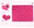 Милый чехол Ультра-тонкий для iPad 2 и iPad 3, Ipad 4 Розовый