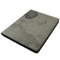 Карта мира Ультра-тонкий чехол для iPad 2 и iPad 3 Серый