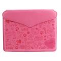 Милый Чехол-клатч Ультра-тонкий для iPad 2 и iPad 3 Пурпурный