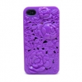 Чехольчик SweatchEasy Blossom на iPhone 4S, Фиолетовый Цветок Bl