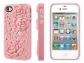 Чехольчик SweatchEasy Blossom на iPhone 4S, Светло Розовый Цвето