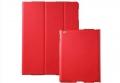 Кожаный ультратонкий чехол для Ipad 2 / 3 New Ipad Красный