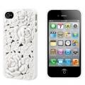Чехольчик SweatchEasy Blossom на iPhone 4S, Белый Цветок Blossom