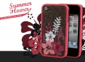 Чехол для IPhone 4/4s Ero case Summer Flower