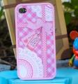 Чехол для Iphone 4 или 4s ero 86 Pink bow