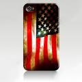 Чехол ультратонкий пластиковый эксклюзив Флаг USA Retro для IPho