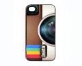 Чехол ультратонкий пластиковый эксклюзив Instagram для IPhone 4/