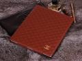 Кожаный чехол Chanel для ipad 2 3 4 Коричневый