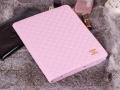 Кожаный чехол Chanel для ipad 2 3 4 Светло розовый