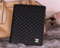 Кожаный чехол Chanel для ipad 2 3 4 Черный