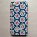 Чехол пластиковый Cath Kingston Розы темно синие для IPhone 4/4s