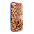 Силиконовый чехол Justcavalli Micro Leopard Леопард Коричневый д