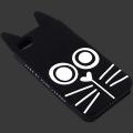 Силиконовый чехол MarcJacobs Rue черная для Iphone 4/4s