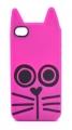 Силиконовый чехол MarcJacobs Rue ярко розовая для Iphone 4/4s