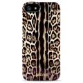 Iphone 4/4s чехол Justcavalli Leopard Коричневый Леопард д