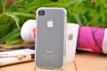 чехол ультратонкий 0.7мм прозрачный для Iphone 4/4s Силиконовый